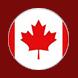 canada flag_glow